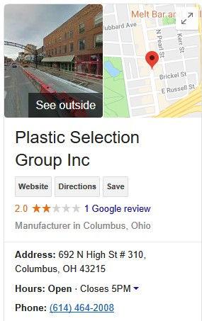 PSG Google My Business