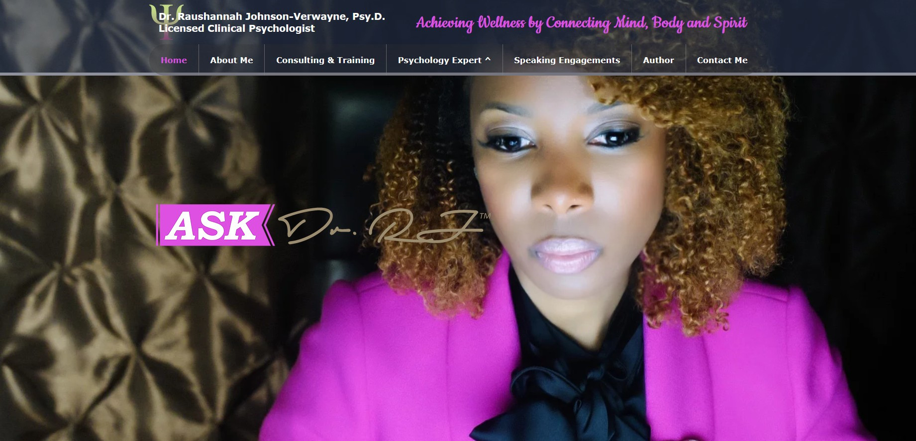 Ask Dr. RJ- Clinical Psychology
