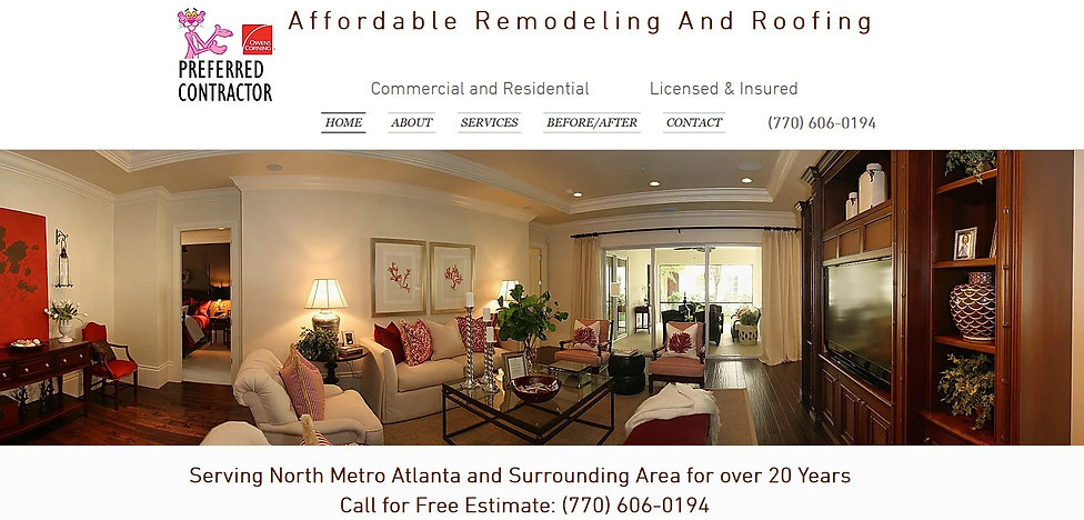 Affordable Remodeling and Roofing
