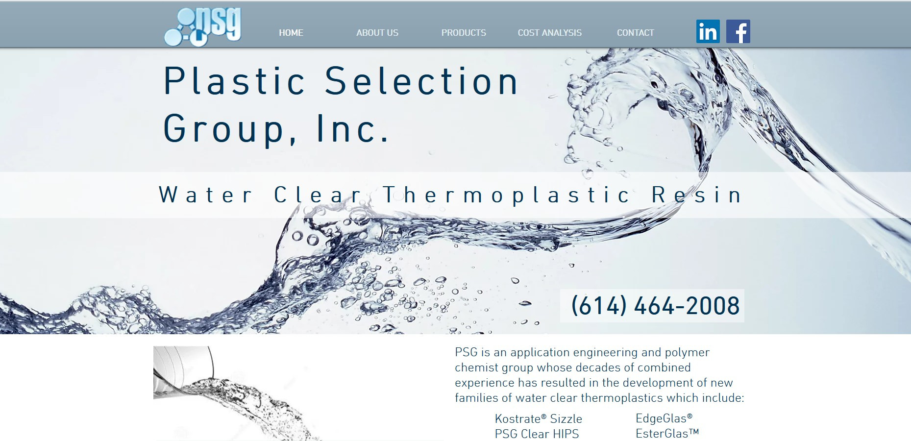 Plastic Selection Group- Application Engineering and Polymer Chemist Group