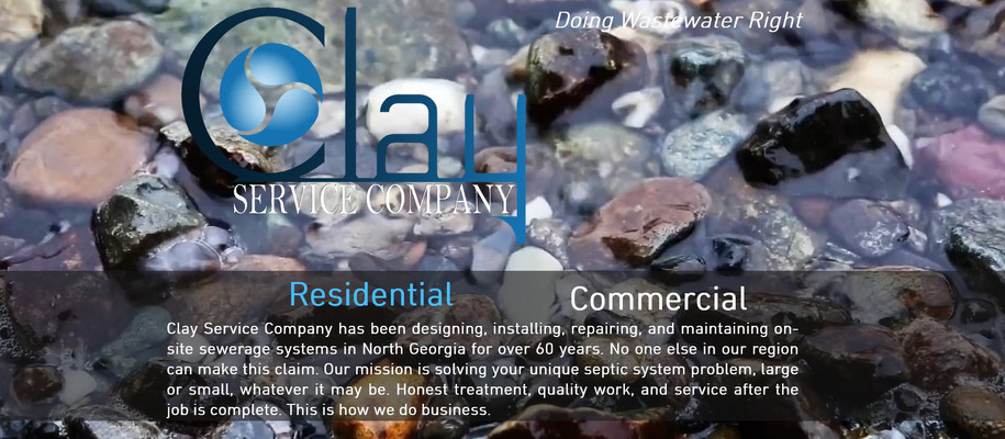 Clay Service Company- On-Site Sewerage Systems