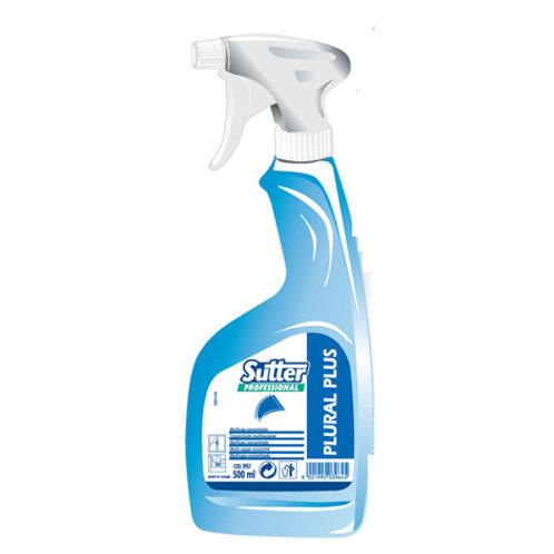Plural Plus - wielofunkcyjny detergent do przeszkleń i powierzchni nowoczesnych