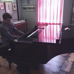 Stephen Gott playing Franz Liszt's Piano of 1882 gifted by Wagner in Bayreuth, Germany