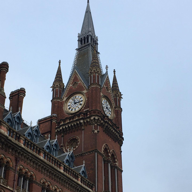 St Pancras Clock Tower