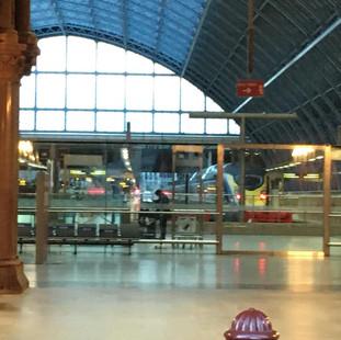 St Pancras International Station, London