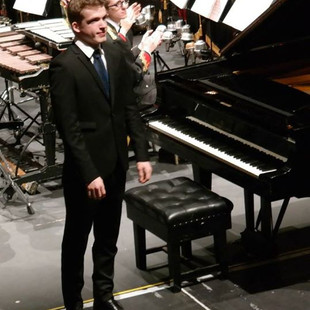 Stephen Gott Pianist guest artist appearance of the Halifax Choral Society 2014