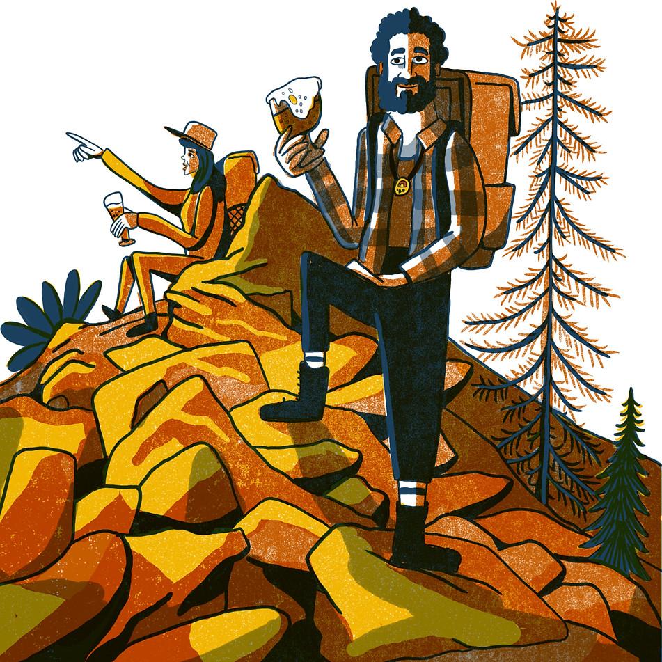 Illustration for Zymurgy Magazine