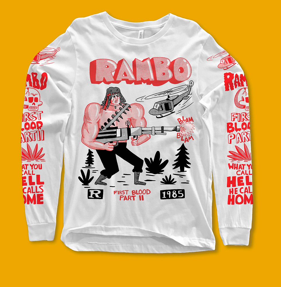Rambo L/S shirt