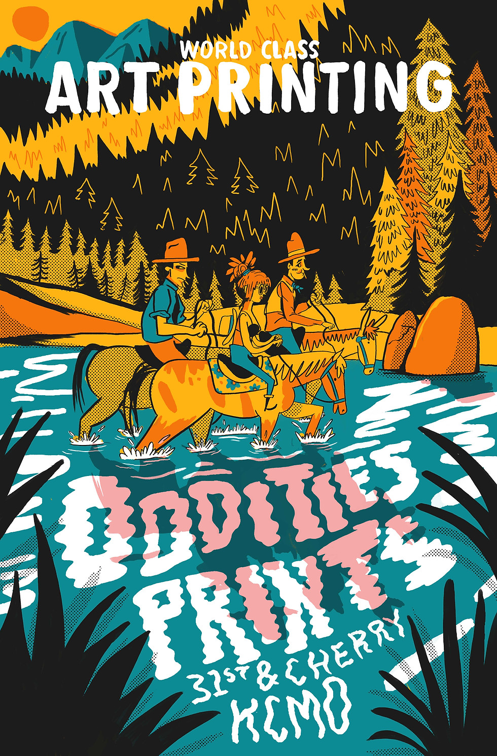 Poster for Oddities Prints