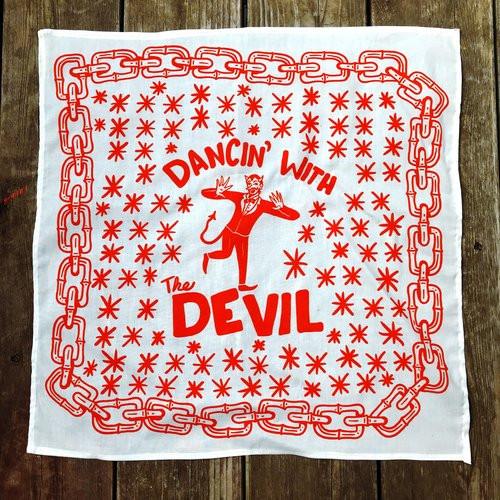 Dancin With the devil Hankerchief design