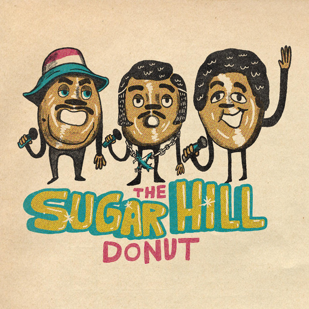 The Sugar Hill donut