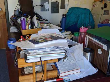 Messy is Not Necessarily Disorganized