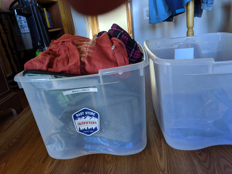 Ten Uses of Open Bins in a Messy House