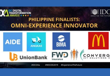 Among 1170+ Entries, BIMA Philippines as a Finalist for Omni-Experience Innovator of the year.