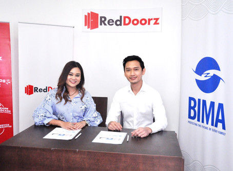 RedDoorz Philippines partners with leading mobile-delivered insurance company BIMA Philippines