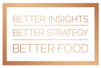 Better Insights. Better Strategy. Better Food.