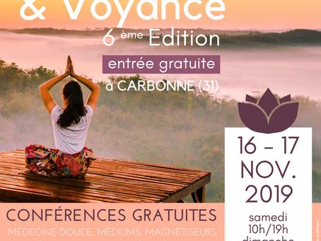 Salon Bien-Etre et Voyance à Carbonne 2019