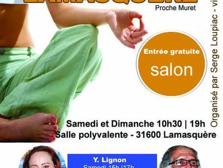 Salon Bien-être, Voyance et Thérapies 2019 à Lamasquère