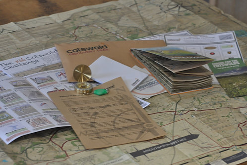 Cotswold Discovery Trail - Trail Pack - Folding Map