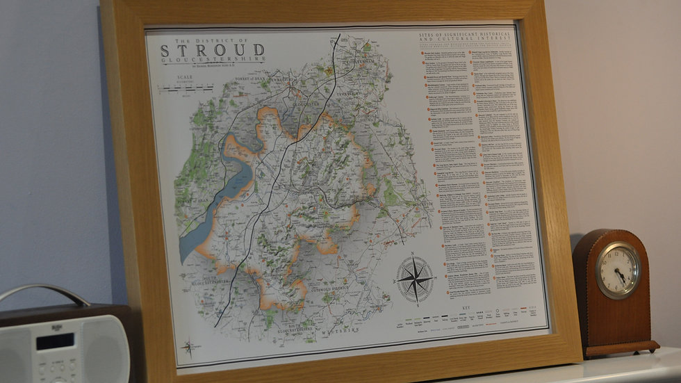 stroud district - orange