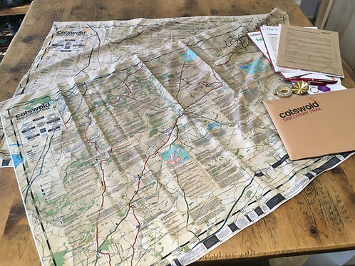 Cotswold Discovery Trail - Trail Pack - Fabric Maps