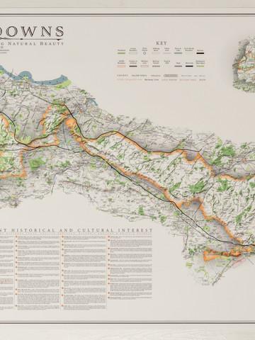 Kent downs map orange border.jpeg