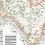 vintage map of Warwickshire