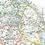 Map of north Warwickshire