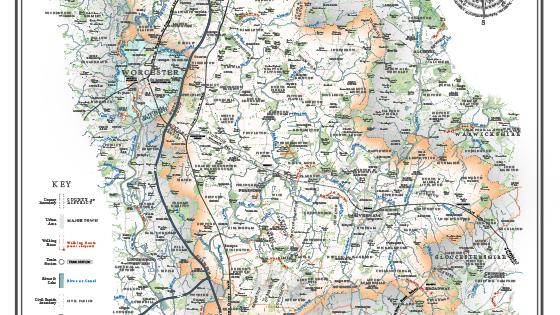 wychavon district map