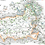 Thumbnail: vale of white horse - orange & blue - print