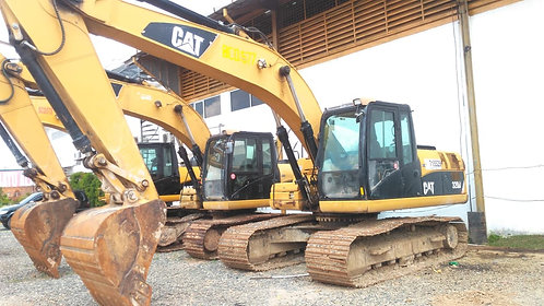 Used Hydraulic Excavator Brand CAT Model 320D Tahun 2012