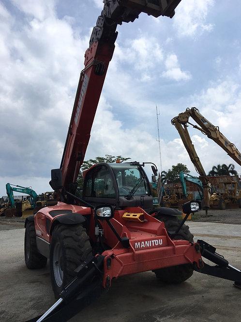 Construction Telehandler Fork Merk Manitou kapasitas angkatan sd. 4 Ton