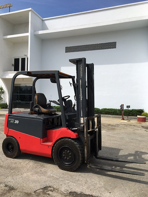 Used Electric Forklift Brand NICHIYU Model FB30PN Tahun 2008