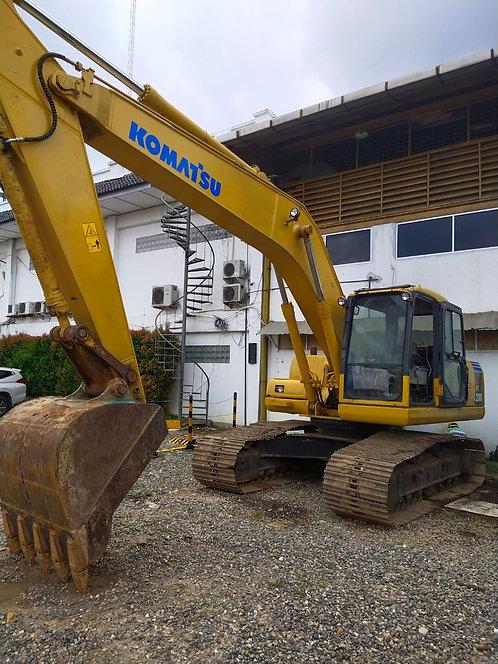 Used Hydraulic Excavator Brand KOMATSU Model PC200-7 Galeo Tahun 2008