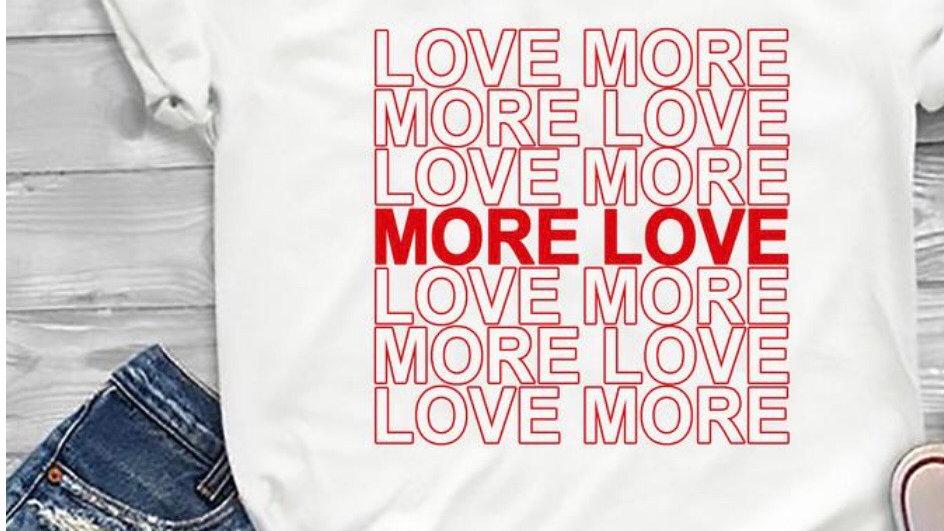 More ❤️ Love