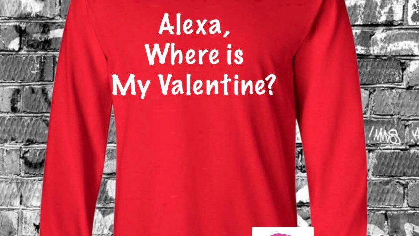 Alexa Where Is My Valentine?