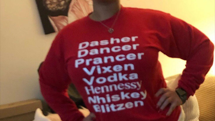 Dasher Dancer Spirit Sweatshirt