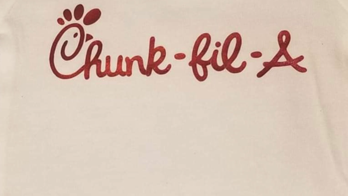 Baby Onesie Chunk Fil-A