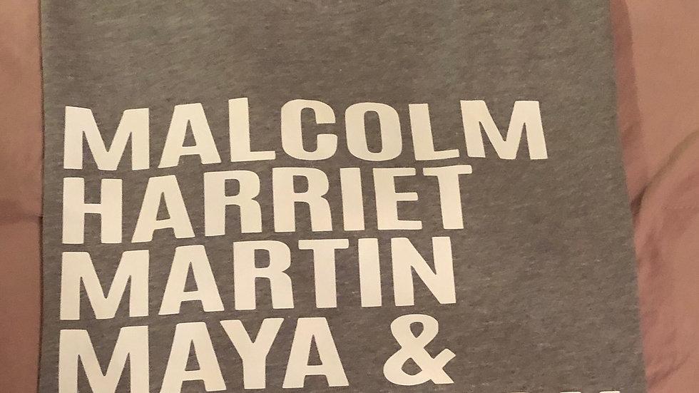 Malcolm Harriet Martin Maya Fredrick