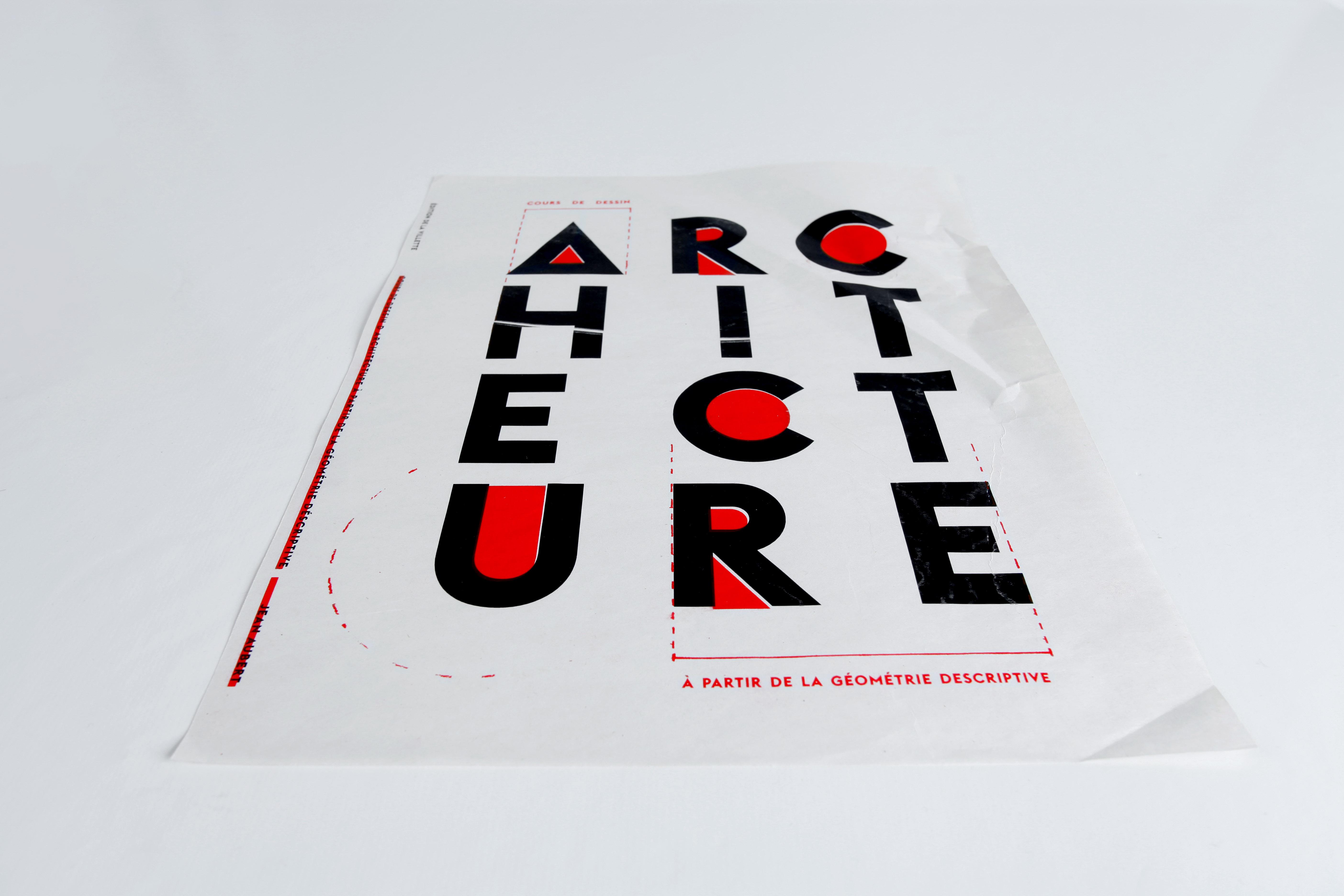 Expérimentation typographique