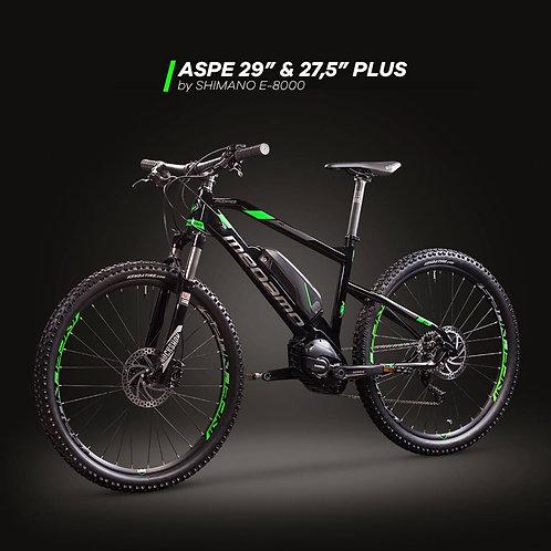 """Megamo Aspe 29"""" T.M (Negro/verde) (usado)"""
