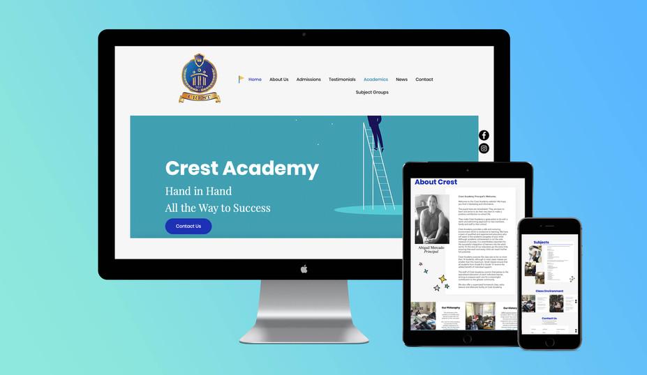 Crest website