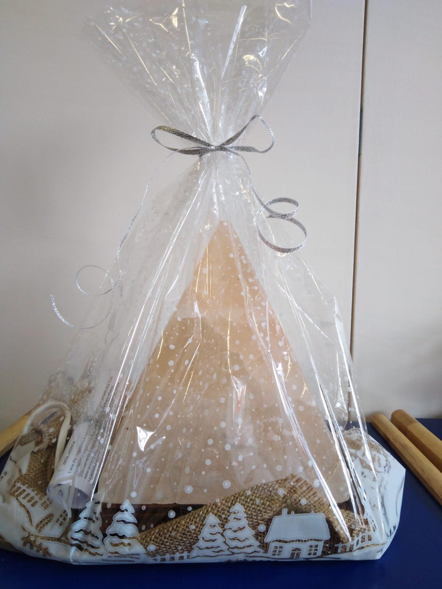 confezione regalo lampada di sale