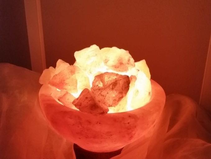 Lampada di sale Braciere