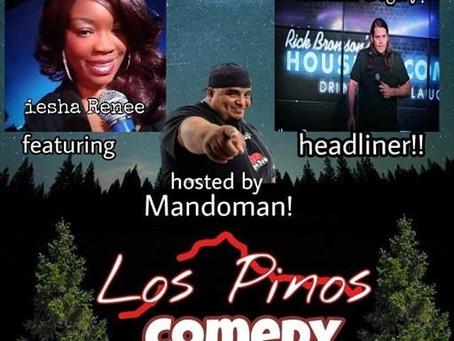 Comedy Night At Los Pinos