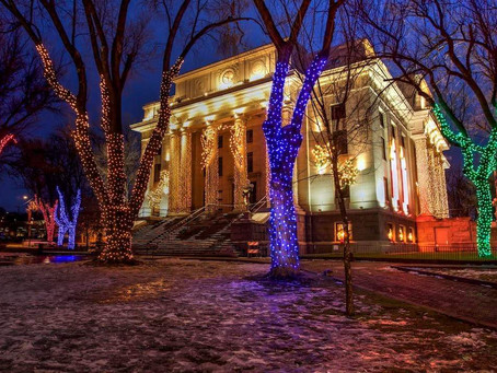 Prescott was named one of the BEST Christmas Town In America