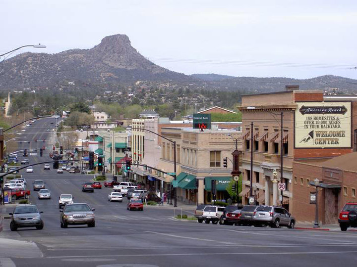 DOWNTOWN PRESCOTT ARIZONA