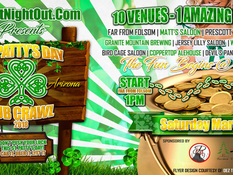 St. Patties Pub Crawl 2018 (Official)
