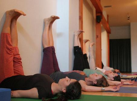 Your Yoga – Viparita Karani (Legs up the wall)