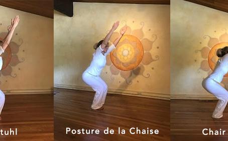 Your Yoga –Utkatasana (Chair Pose)